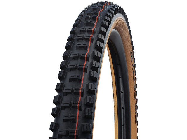 "SCHWALBE Big Betty Super Gravity Evolution Folding Tyre 29x2.40"" TLE E-50 Addix Soft, black/classic"